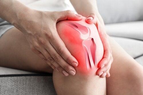 Schmerz im Knie