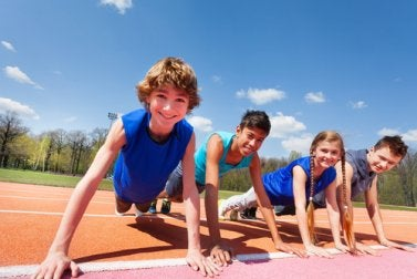 Sport im Kindesalter