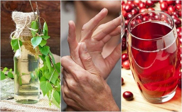5 Hausmittel gegen überschüssige Harnsäure