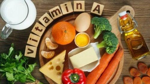 Vitamin A: welche Lebensmittel es enthalten