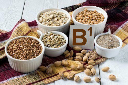 Bestandteile von Getreide