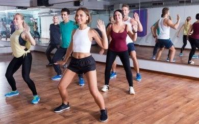 Zumba-Kurs im Fitnessstudio