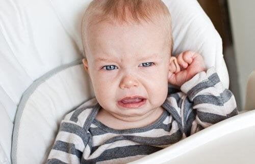 bei Babykoliken - Symptome