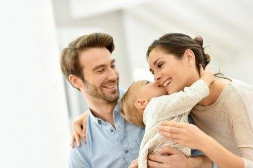 bei Babykoliken - Haltung