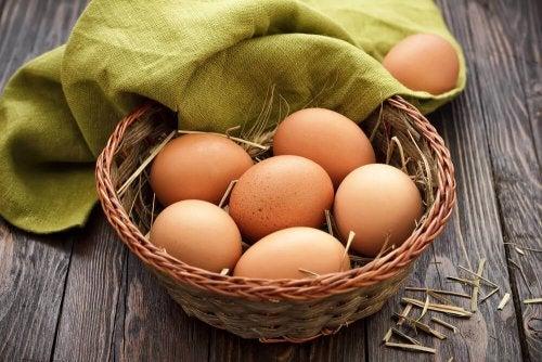 Eier sind eine gute Eiweißquelle