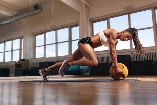 Produktion von Milchsäure in den Muskeln