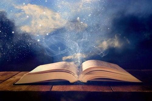 Die Welt der Bücher kann ein magischer Ort sein