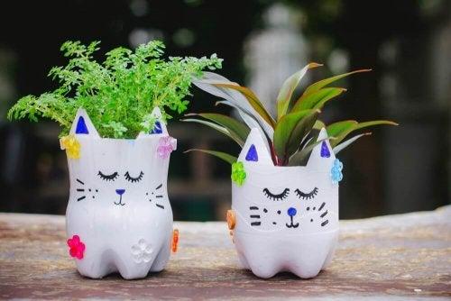Pflanztöpfe zu Hause selbst herstellen