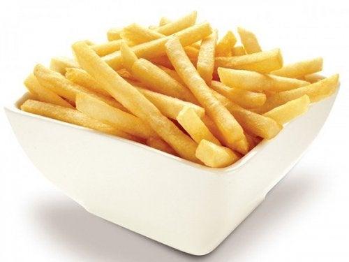 Verbanne Pommes Frites aus deinem Alltag