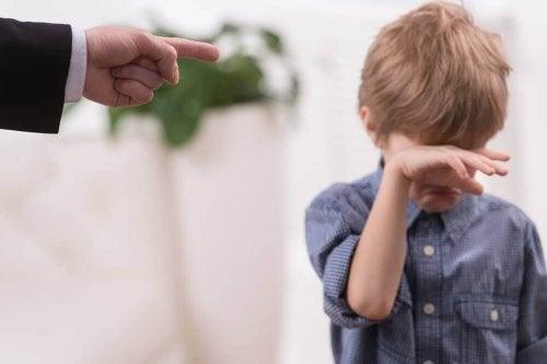 Schuld ist ein Traumata aus der Kindheit