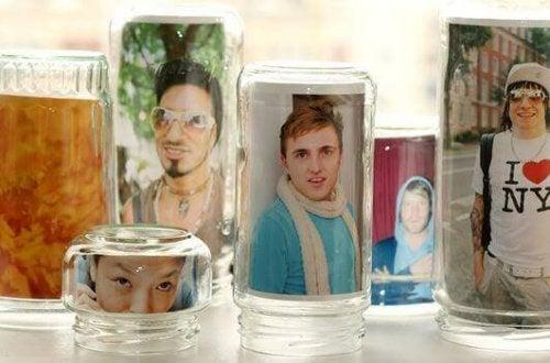 Bilderrahmen aus Glas