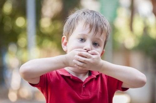 Kind will nicht sprechen