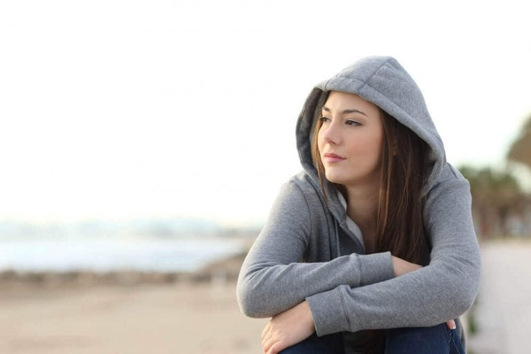 Wenn du eine schwierige Situation durchmachst, bleibe stark!