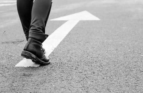 nach einer Trennung - laufen