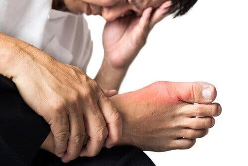 medizinische Kohle - Fußschmerzen
