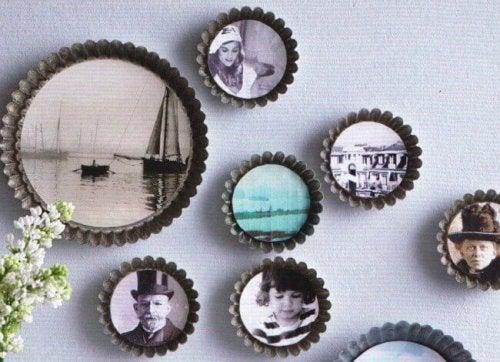 11 dekorative Ideen für deine Familienfotos