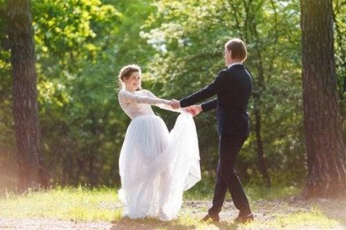 Hochzeit und Hochzeitsmenü
