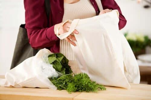 Stofftaschen für den Einkauf