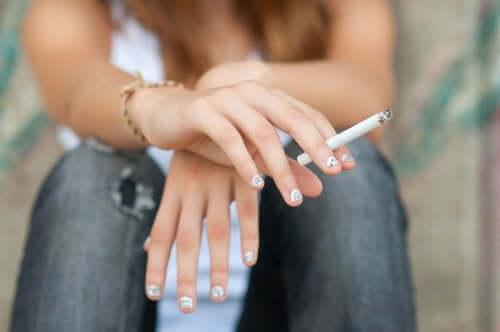 Schlafstörungen bei Jugendlichen durch Tabak