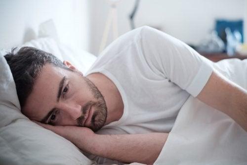 Ständige Müdigkeit depressiver Menschen