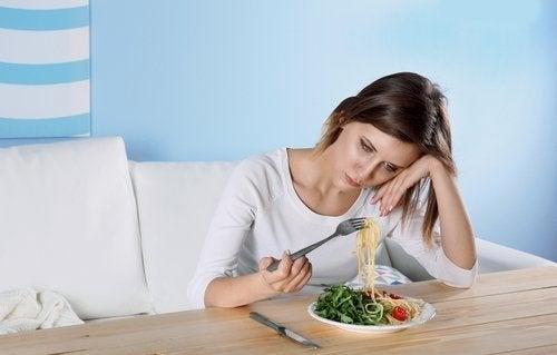 Veränderte Ernährungsgewohnheiten depressiver Menschen