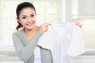 Glasreiniger für besonders schwierig zu entfernende Flecken auf Kleidung