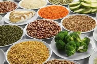 vegetarische Ernährung: eisenhaltige Zutaten