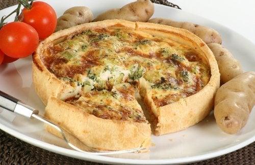 Leckere Gemüse-Käse-Quiche
