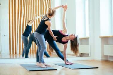 Gelenkschonende Übungen: Yoga
