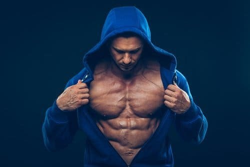 Muskel-Hypertrophie - Body-Builder