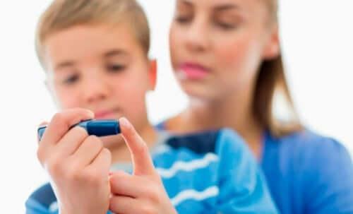 Ratschläge für Diabetes Typ 1 bei Kindern