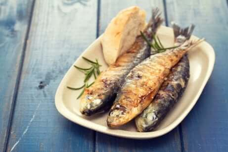 mediterrane Diät: Fisch