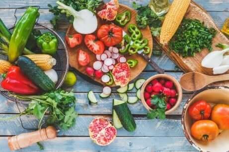 Mediterrane Diät: Frische, saisonale Nahrungsmittel