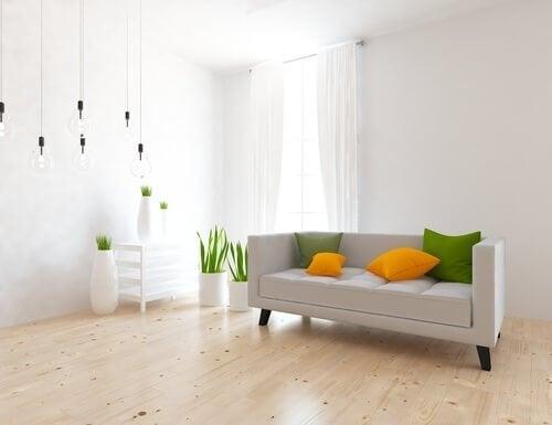 Minimalistisch einrichten: Wohnzimmer