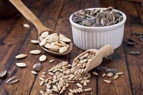 Zutaten für Low-Carb-Brot
