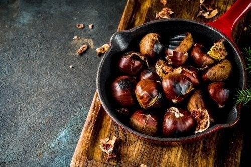4 Rezepte mit Kastanien: lecker und gesund