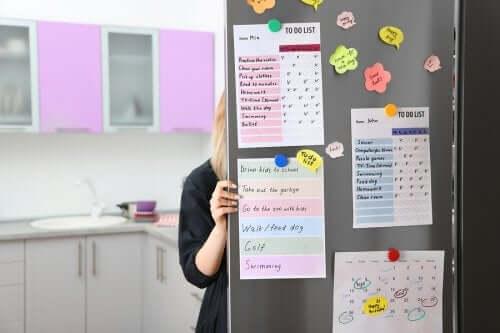Organisationsboard: mehr Ordnung und bessere Planung!