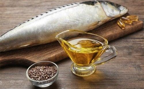 das Gehirn liebt Fett wie Omega 3, das insbeesondere im Fisch vorhanden ist