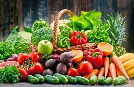 Ernährung bei Schuppenflechte: Obst und Gemüse