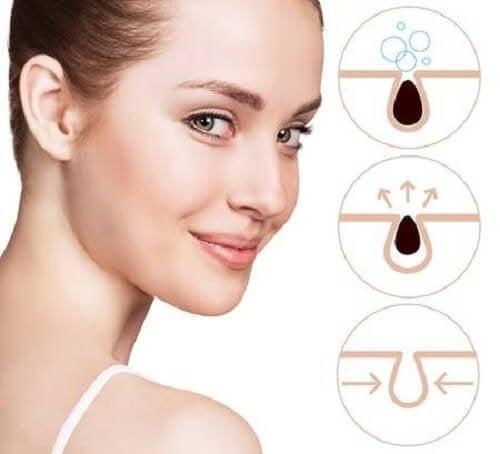 Wie du mit 3 einfachen Mitteln verstopfte Poren reinigen kannst