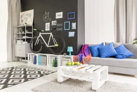 Mit recyceltem Material dekorieren: Paletten eignen sich dafür ausgezeichnet!