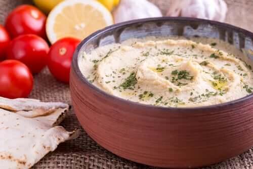 gesunder Hummus