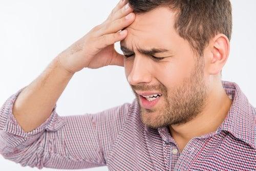 Kopfschmerzen durch Brimonidin