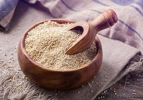Quinoa als gute Quelle für Kohlenhydrate
