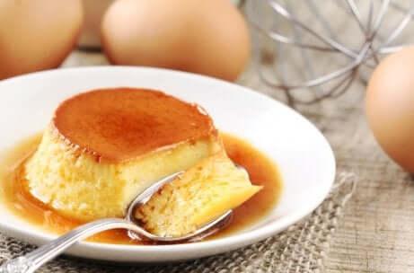 Rezept für einen kalorienarmen napolitanischen Flan: Zubereitung
