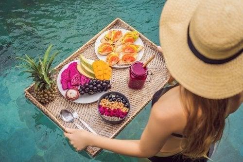 Ernährung im Sommer, um eine Gewichtszunahme zu verhindern