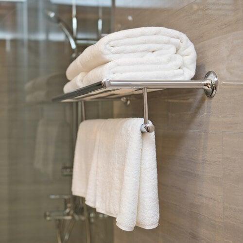 Handtücher reinigen