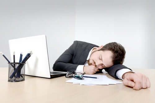 Einschlafprobleme durch Stress