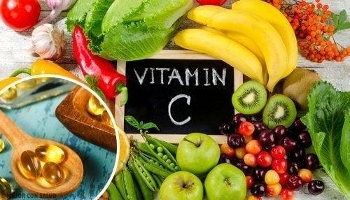 Lebensmittel mit Vitamin C