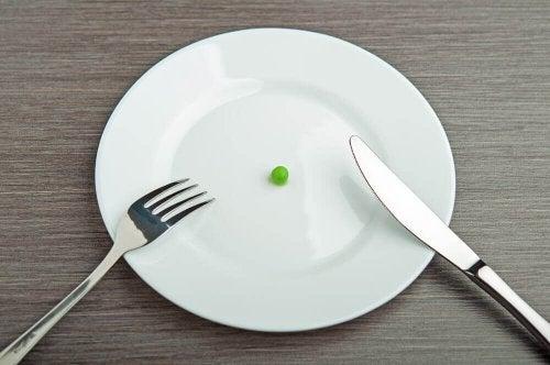 Avitaminose durch strikte Diäten
